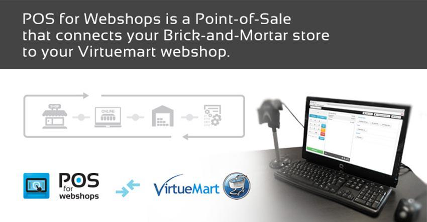 pos for webshops - connect your virtuemart with your brick&mortar store
