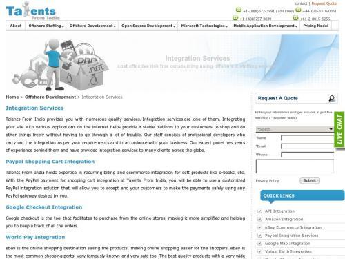 www.talentsfromindia.com