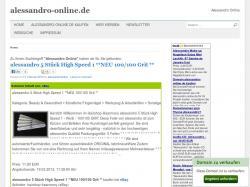 www.alessandro-online.de